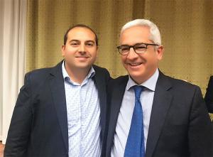 Giovanni Gagliardi e Marcello Manna