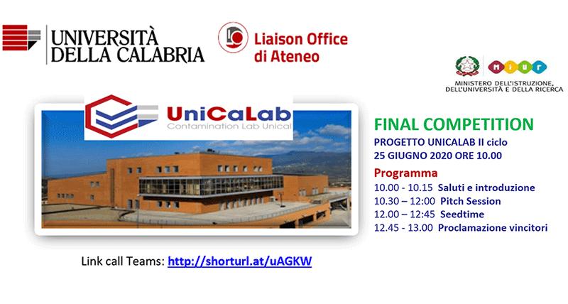 Nove team in gara e due giurie per la Finale del II ciclo di UniCaLab