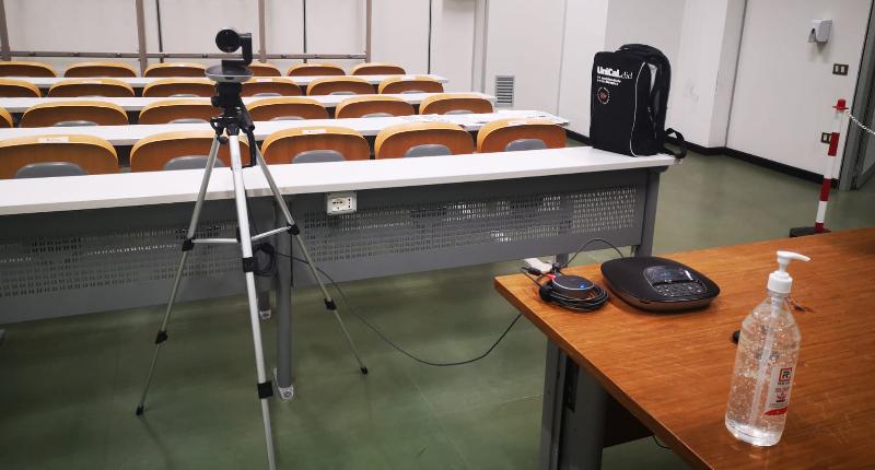 Da lunedì lezioni a distanza all'Unical, ma gli studenti del primo anno potranno seguire in presenza