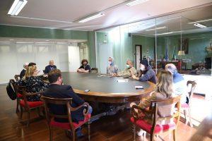 L'incontro tra Jorit e il sindaco di Rende, Marcello Manna - Settembre Rendese