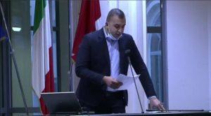 Il consigliere comunale Morrone