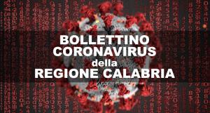 Bollettino Coronavirus della Regione Calabria