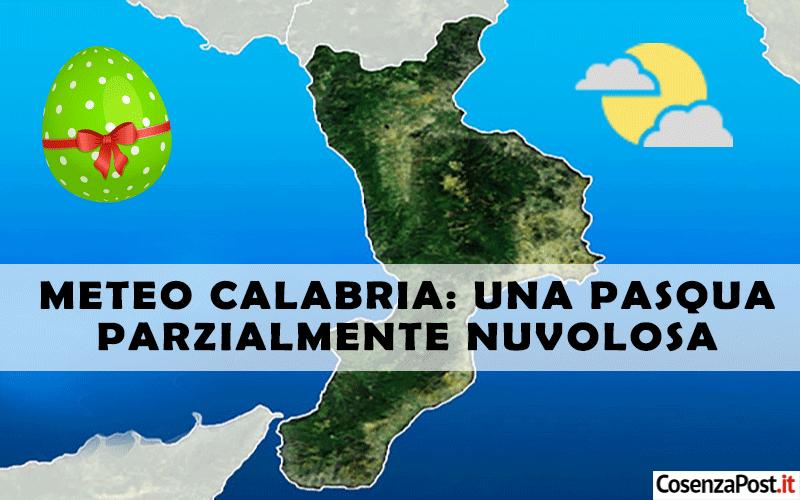 Meteo Calabria una pasqua parzialmente nuvolosa