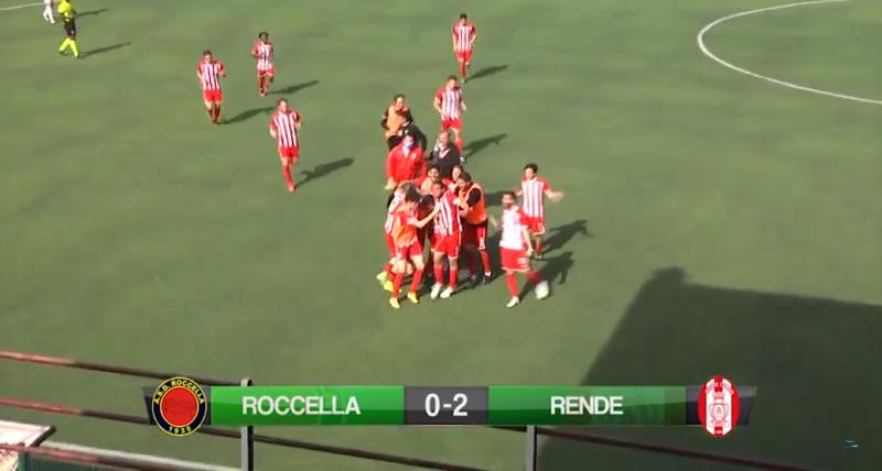 Rende altra vittoria fondamentale a Roccella. Biancorossi sempre più in corsa verso i playout