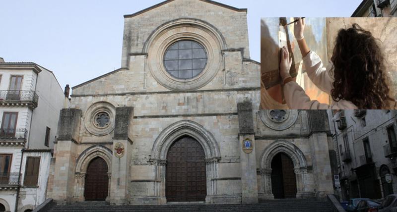 Gli studenti dell'Unical presentano le attività di restauro condotte sul Duomo di Cosenza