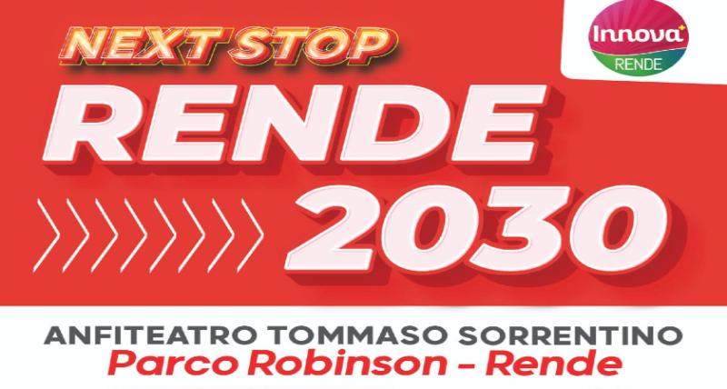 Innova Rende presenta _Next Stop Rende 2030_ sul futuro della città