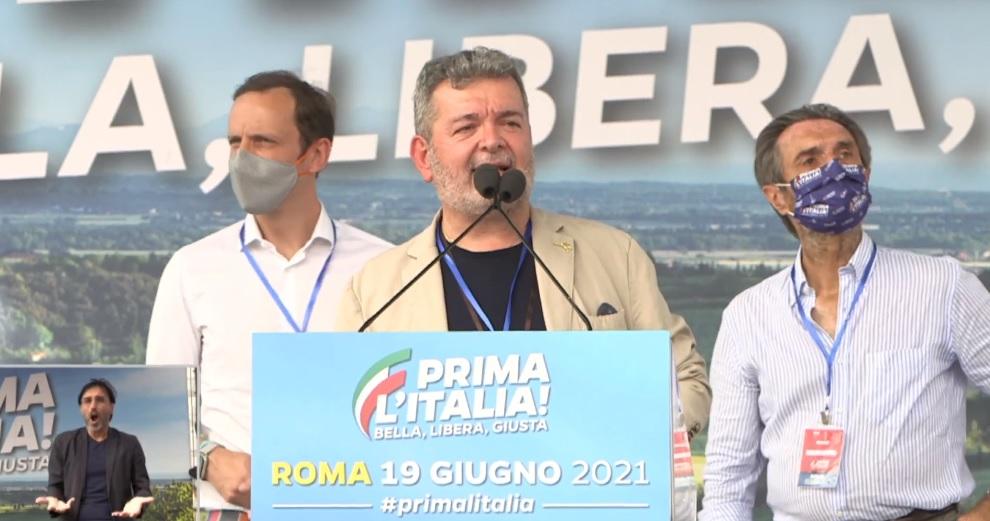 L'intervento del Presidente ff della regione Calabria Spirlì all'evento con Matteo Salvini