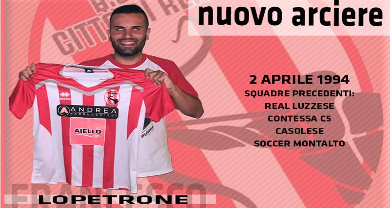 Calcio a 5, Città di Rende_ colpo Francesco Lopetrone