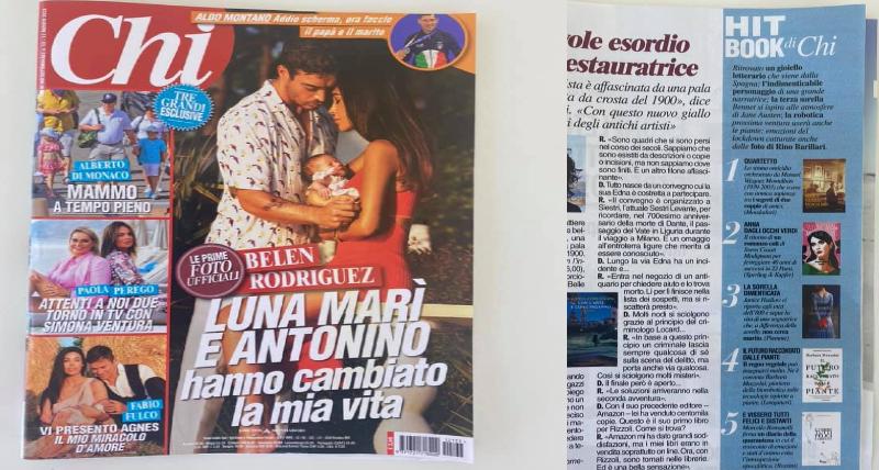 """""""E vissero tutti felici e distanti"""" di Marcello Romanelli entra nella Hit Book di _Chi_"""