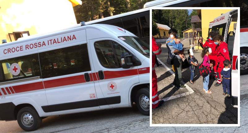 La Croce Rossa Italiana di Cosenza e la raccolta aiuti per i profughi dell'Afghanistan