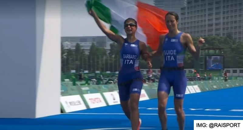 La reggina Anna Barbaro argento alle Paralimpiadi di Tokyo nel Triathlon