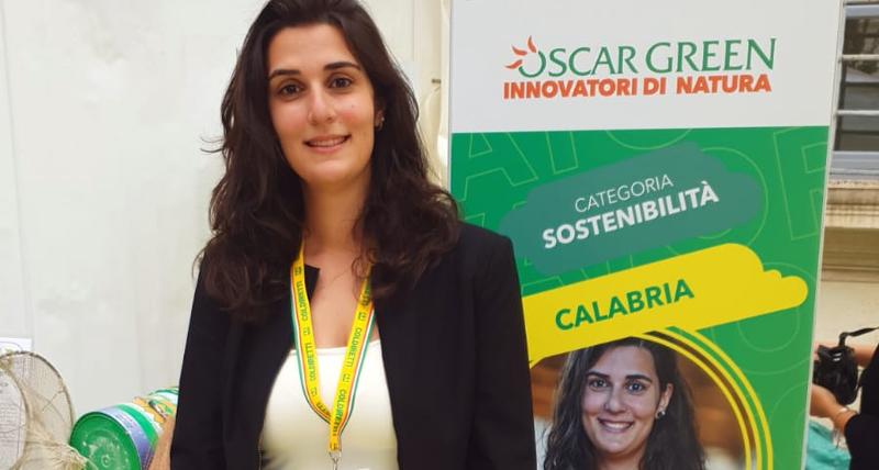 Coldiretti_ con Federica Basile _Fattoria della Piana_ la Calabria sul podio alla finale nazionale del premio Oscar Green