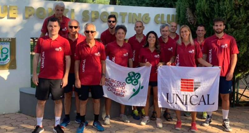 Le tenniste dell'Unical vincono i 34esimi Campionati Universitari Nazionali ANCIU