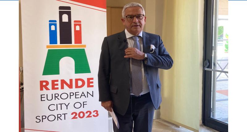 Rende è ufficialmente Città Europea dello Sport 2023