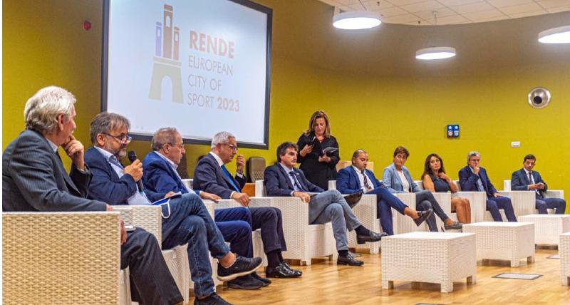 """Rende presenta la sua candidatura di Città Europea dello Sport 2023, il sindaco Manna_ """"un'opportunità per tutta la provincia"""""""
