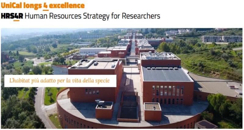 Workshop HRS4R - Human Resources Strategy for Researchers dell'Università della Calabria